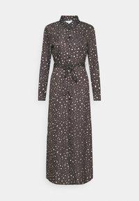 BELTED DRESS - Maxi šaty - dark grey