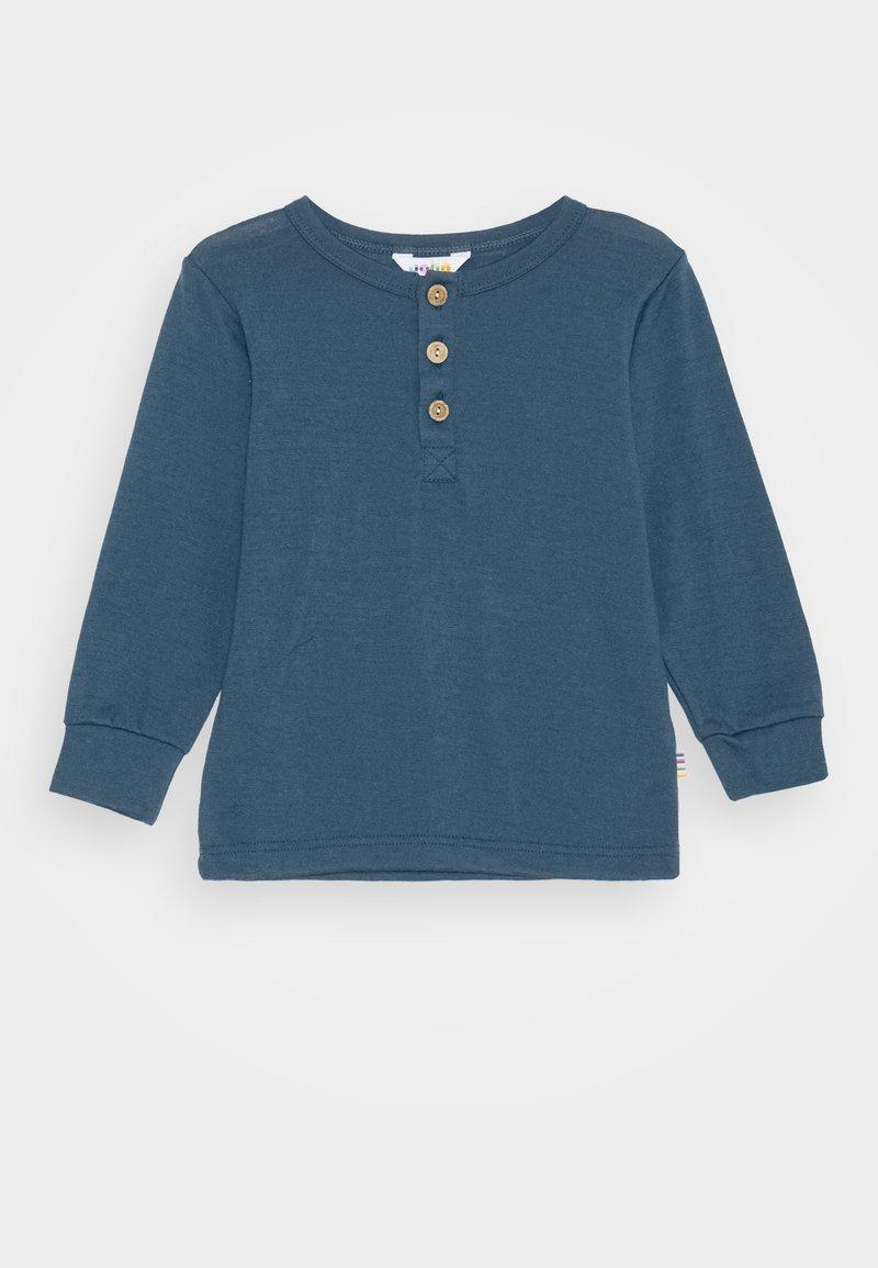 Joha - LONG SLEEVES UNISEX - Long sleeved top - blue grey