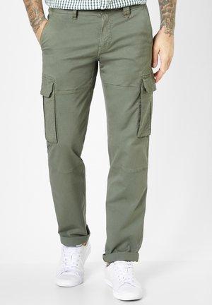 MURDOCK - Cargo trousers - olive green