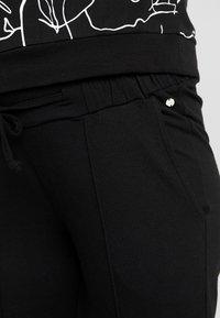 Esprit Maternity - PANTS - Spodnie materiałowe - black - 4