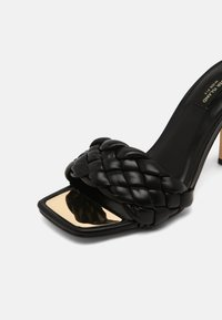River Island Wide Fit - Heeled mules - black - 7