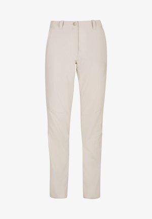 HIKING PANTS WOMEN - Pantalons outdoor - moonbeam