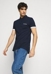 INDICODE JEANS - EARNEST - Polo shirt - navy - 3