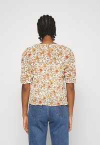 ONLY - ONLDAHLIA - Print T-shirt - creme brûlée - 2