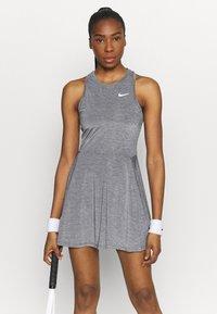 Nike Performance - DRESS - Sportklänning - black/white - 0