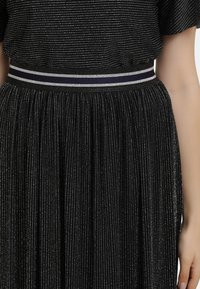 myMo at night - A-line skirt - schwarz silber - 3