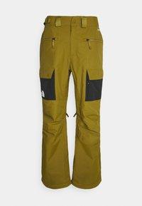 SLASHBACK  - Snow pants - green/black
