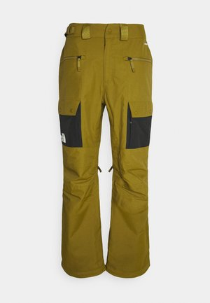 SLASHBACK  - Snow pants - green/black