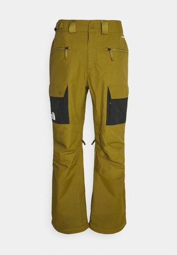 SLASHBACK  - Pantalon de ski - green/black