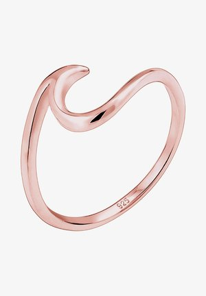 WELLEN - Ring - rosegold-coloured