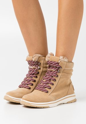 ALDRITCH - Lace-up ankle boots - tan/brown