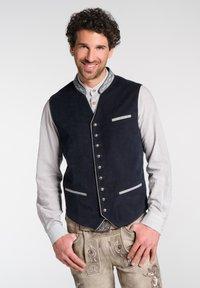 Spieth & Wensky - Waistcoat - dark blue - 0