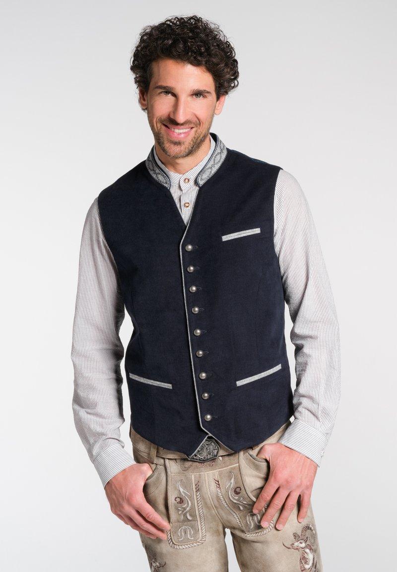 Spieth & Wensky - Waistcoat - dark blue