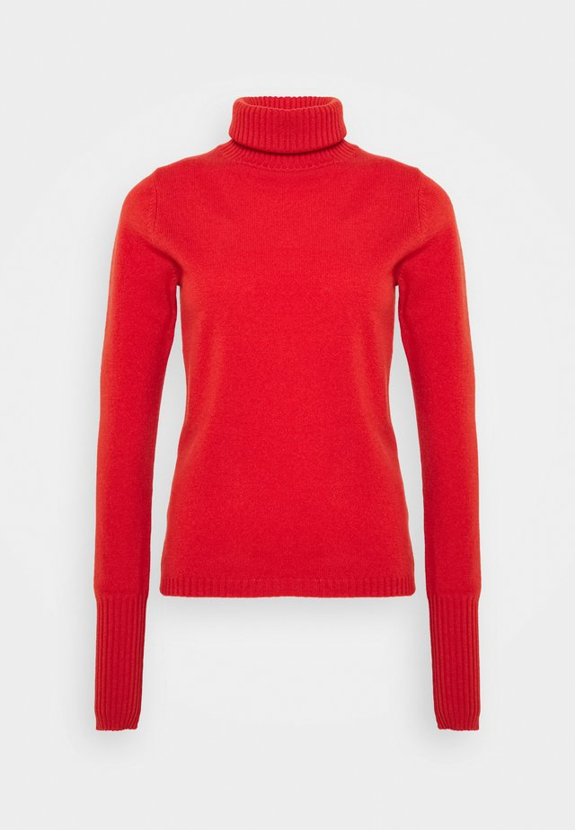 ROLLNECK - Pullover - cayenne