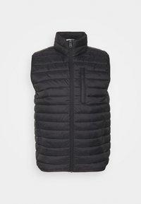 Esprit - RECTHINS  - Waistcoat - black - 0