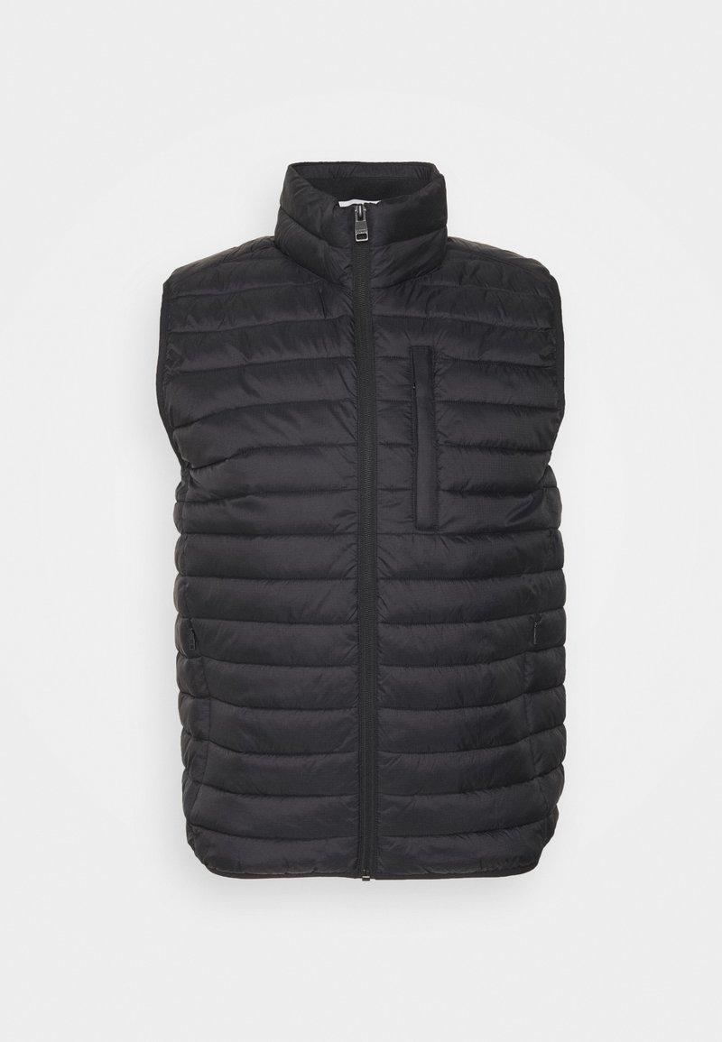 Esprit - RECTHINS  - Waistcoat - black