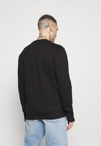Tommy Jeans - LINEAR LOGO CREW - Sweatshirt - black - 2
