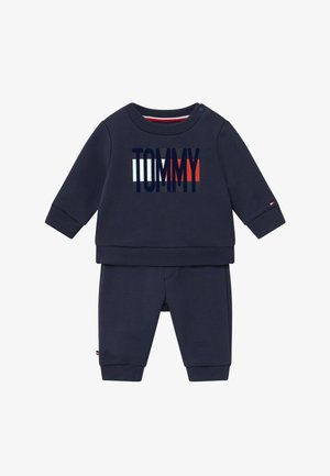 BABY FLAG TRACKSUIT SET - Trainingspak - blue