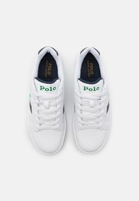 Polo Ralph Lauren - OAKVIEW UNISEX - Sneakers - white smooth/navy/green - 3