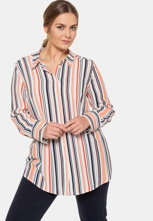 Button-down blouse - multicolor