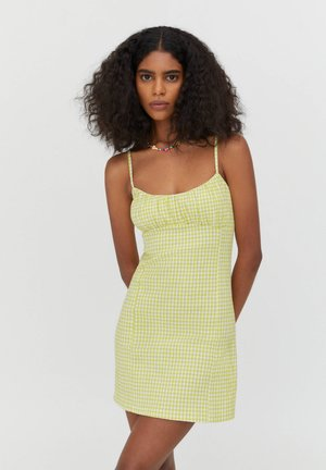 Korte jurk - light green