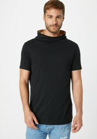 Fli Papigu - GANGSTA & KRIPOS - Print T-shirt - schwarz - 0