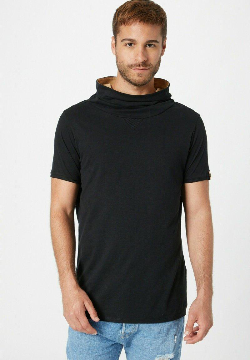 Fli Papigu - GANGSTA & KRIPOS - Print T-shirt - schwarz