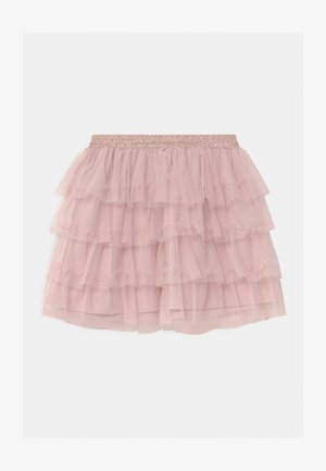 MINI FLOUNCES - A-line skirt - dusty pink