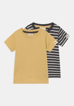 STRIPE SUNSHINE 2 PACK UNISEX - T-shirt print - multi-coloured