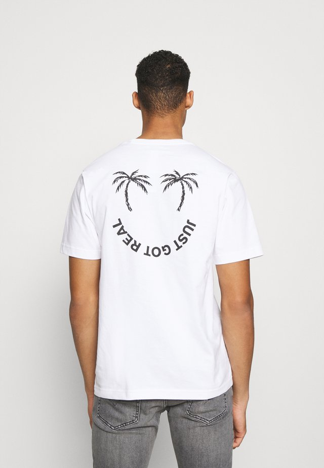TUBOLAR - Printtipaita - white