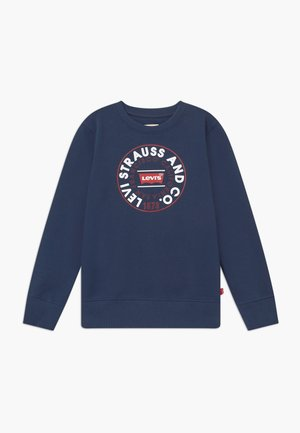 CREWNECK - Mikina - dress blues