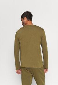 Diadora - CHROMIA - Long sleeved top - olive green - 2
