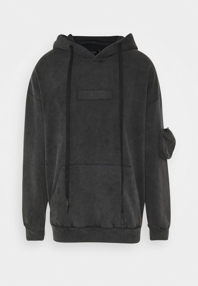 MAGIC HOODY - Jersey con capucha - black ice wash