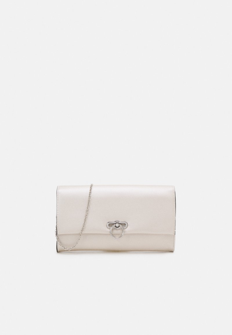 Dorothy Perkins - RING LOCK - Clutch - champagne