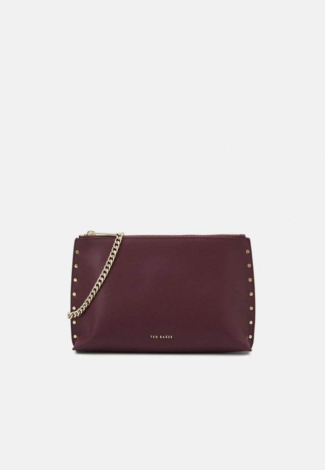 ALEXSI STUD DETAIL - Clutch - purple