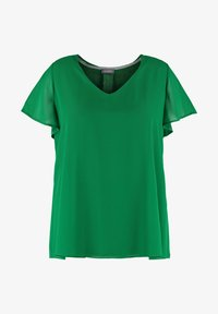Samoon - Blouse - leaves green - 3