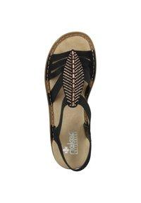 Rieker - Walking sandals - black - 1