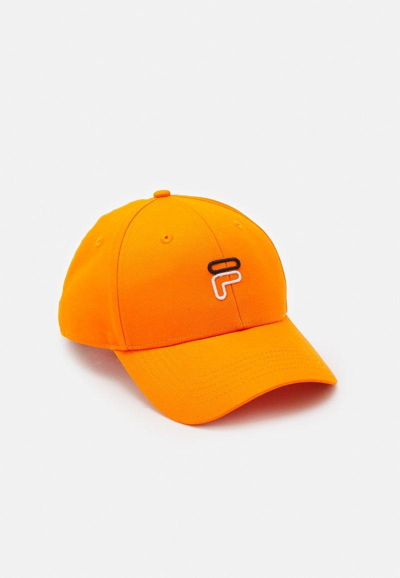 "Fila - 6 PANEL ""F"" OUTLINE LOGO STRAP BACK UNISEX - Cap - mandarin orange"