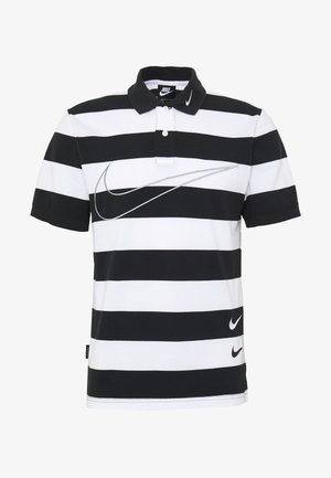 M NSW  POLO SS KNT - Polo - black/white