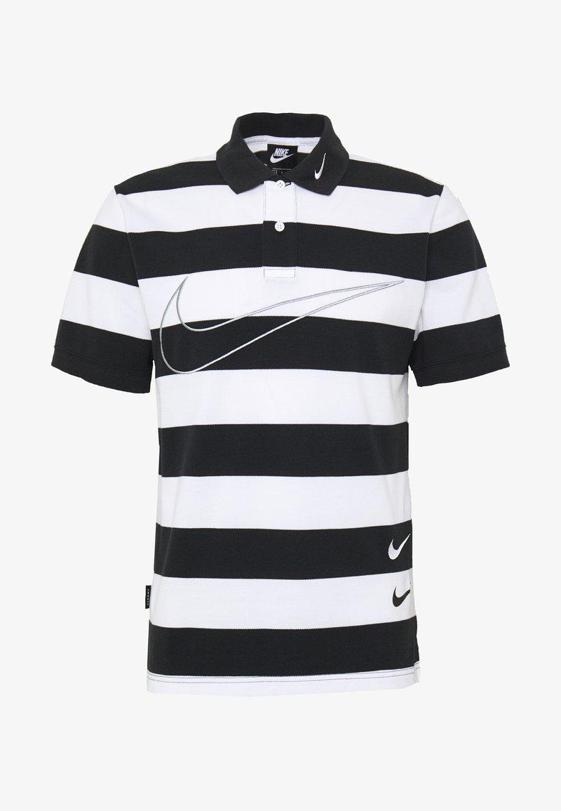 Nike Sportswear - M NSW  POLO SS KNT - Polo shirt - black/white