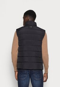 Calvin Klein - CRINKLE VEST - Waistcoat - black - 2