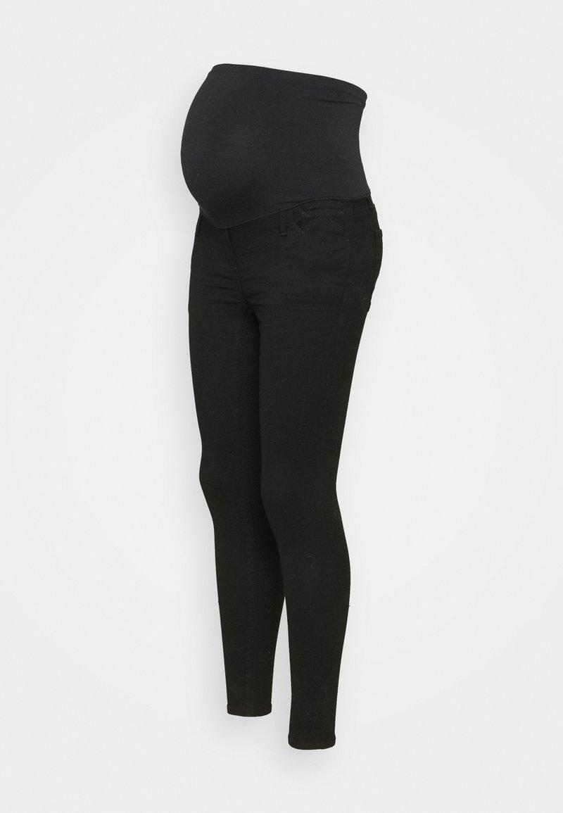 GAP Maternity - Jegginsy - black rinse
