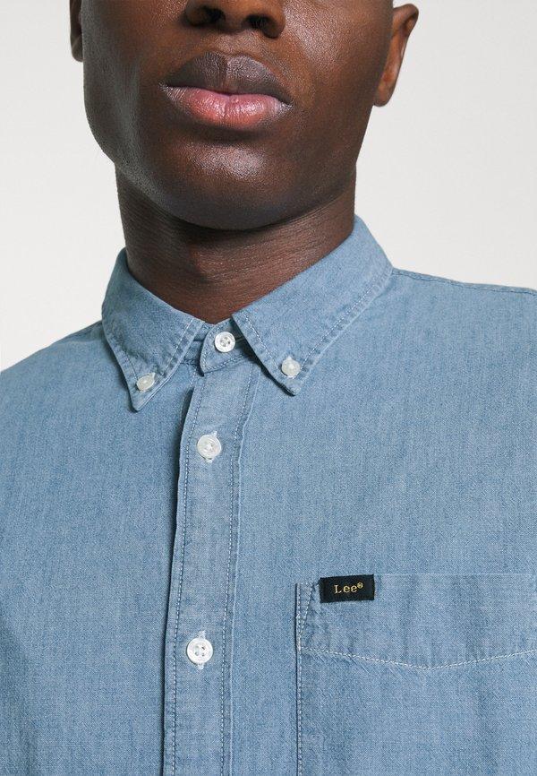Lee BUTTON DOWN - Koszula - piscine/jasnoniebieski Odzież Męska NNHV