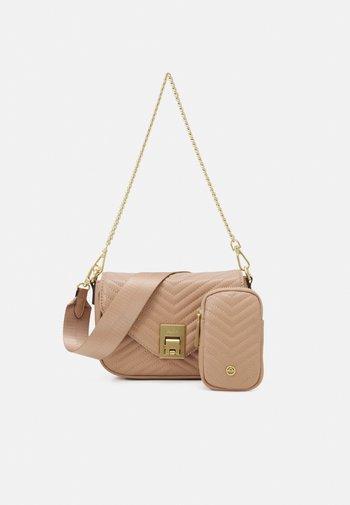 UNILA SET - Across body bag - medium beige