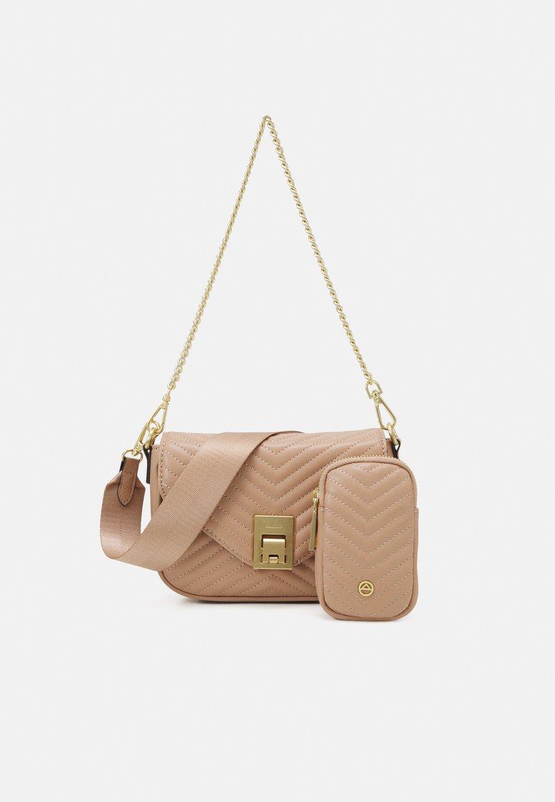 ALDO - UNILA SET - Across body bag - medium beige