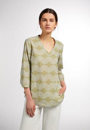 Long sleeved top - beige khaki
