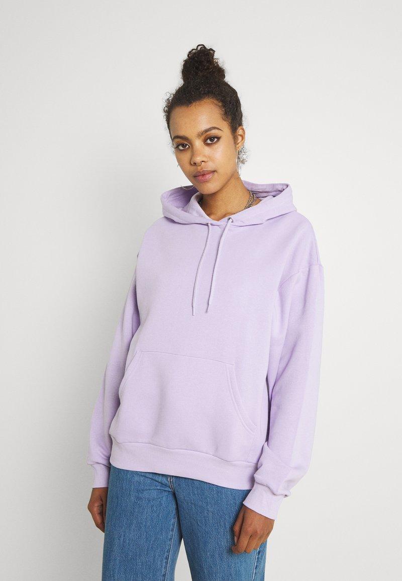 Monki - Bluza z kapturem - purple