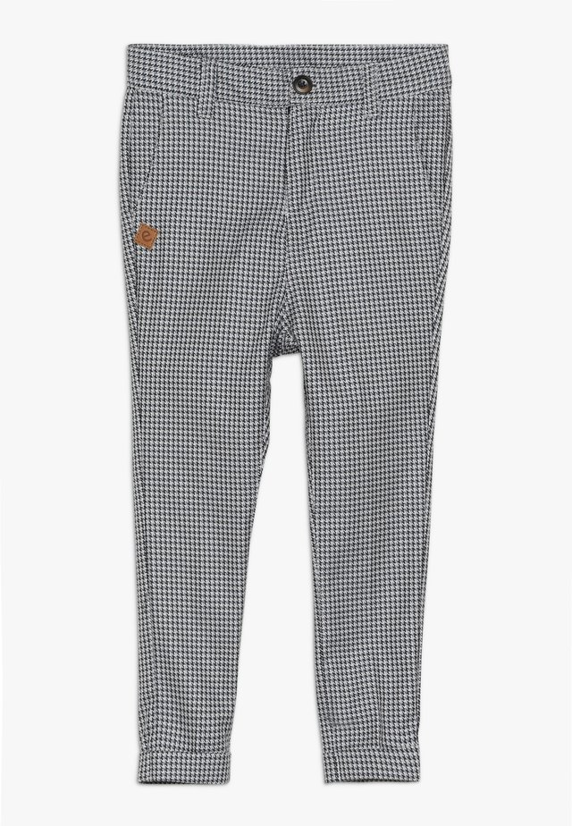 VARTUS TROUSERS - Stoffhose - black/white