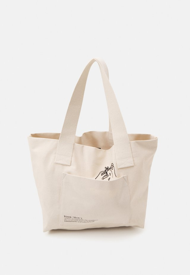 ABLANKA BAG - Shoppingväska - milk
