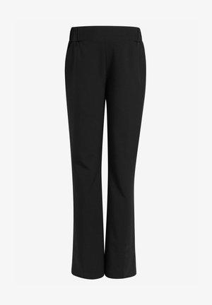 MATERNITY - Pantalones - black